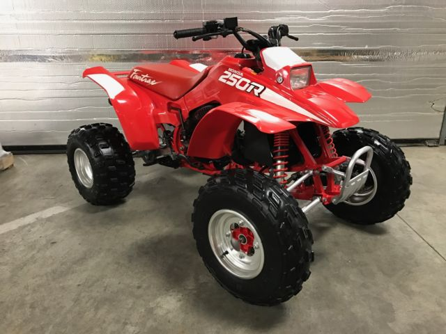 on Honda Fourtrax 250r