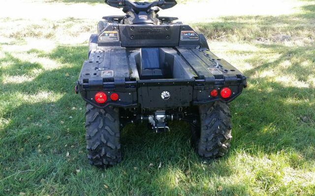 6x6 am outlander xt vengeance atv utv vin atvlist condition vehicle
